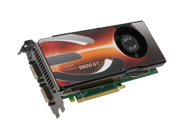 EVGA 01G-P3-N984-AR GeForce 9800 GT AKIMBO Superclocked Edition 1GB 256-bit GDDR3 PCI Express 2.0 x16 HDCP Ready SLI Supported Video Card