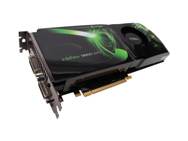 EVGA GeForce 9800 GTX(G92) DirectX 10 512-P3-N871-RX Video Card