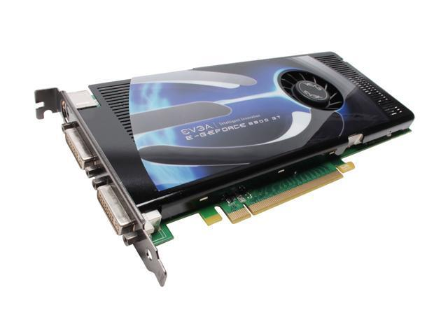 EVGA GeForce 8800 GT DirectX 10 512-P3-N801-RX 512MB 256-Bit GDDR3 PCI Express 2.0 x16 HDCP Ready SLI Support Video Card