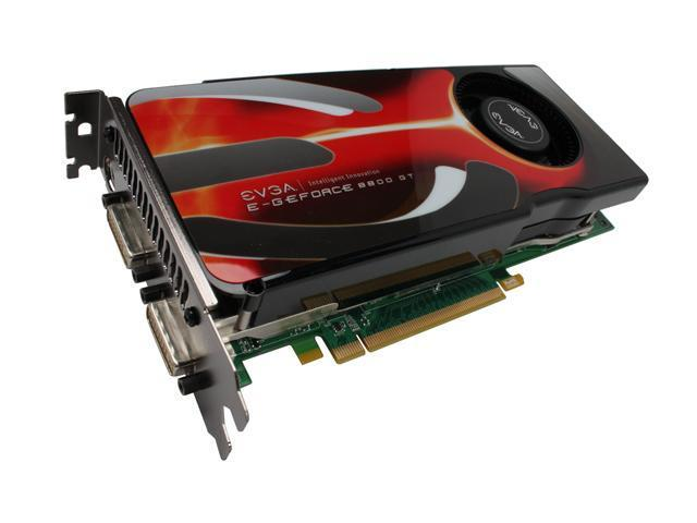 EVGA GeForce 8800 GT DirectX 10 512-P3-N807-RX Video Card