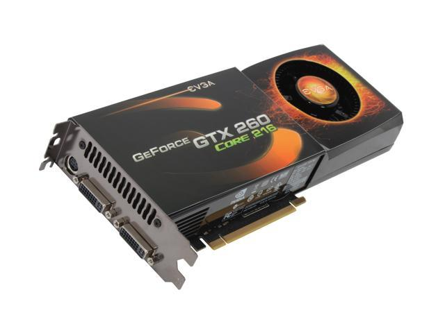 EVGA GeForce GTX 260 DirectX 10 896-P3-1268-AR Video Card