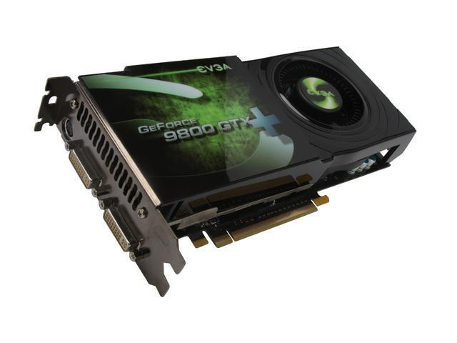 EVGA 512-P3-N890-AR GeForce 9800 GTX+ SSC Edition 512MB 256-bit GDDR3 PCI Express 2.0 x16 HDCP Ready SLI Supported Video Card