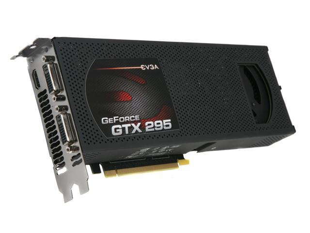 EVGA GeForce GTX 295 DirectX 10 017-P3-1291-AR Video Card