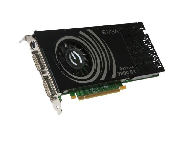 EVGA 512-P3-N977-TR GeForce 9800 GT Superclocked Edition 512MB 256-bit GDDR3 PCI Express 2.0 x16 HDCP Ready SLI Supported Video Card