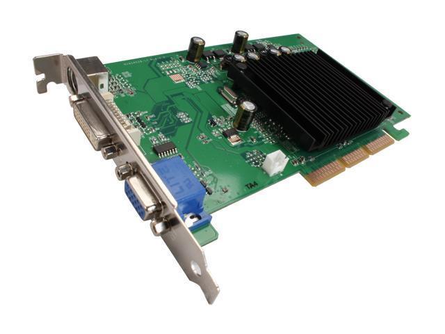 EVGA GeForce 6200 DirectX 9 256-A8-N401-LR 256MB 64-Bit DDR2 AGP 8X Video Card