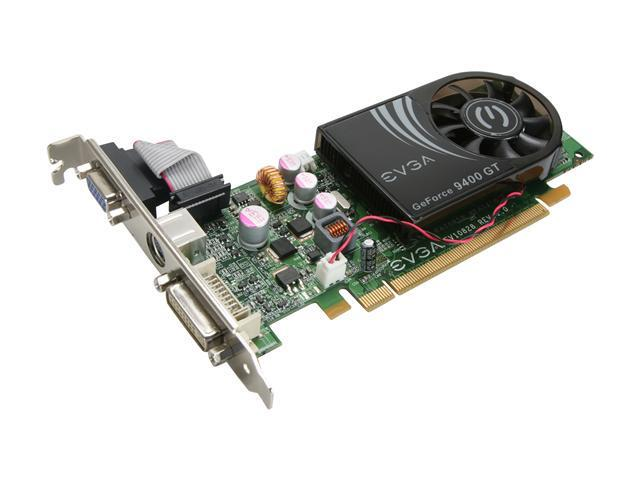 EVGA GeForce 9400 GT DirectX 10 512-P3-N947-LR Video Card