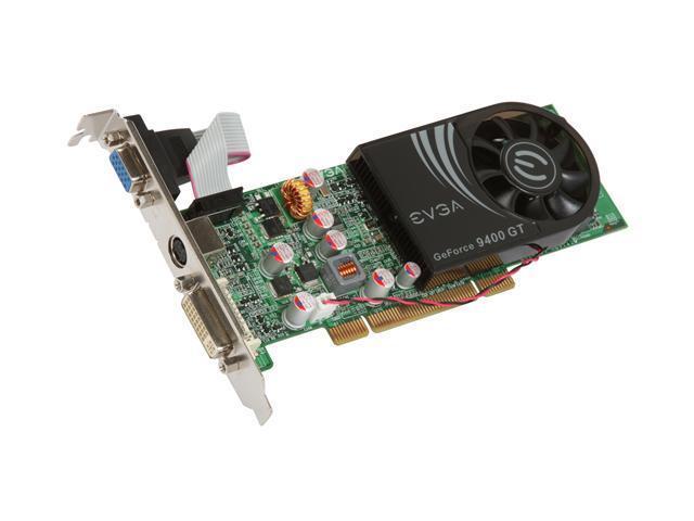 EVGA GeForce 9400 GT DirectX 10 01G-P1-N948-LR Video Card