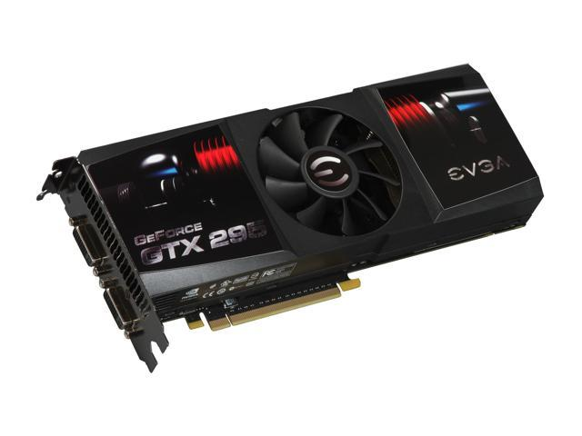EVGA GeForce GTX 295 DirectX 10 017-P3-1295-AR CO-OP Edition Video Card