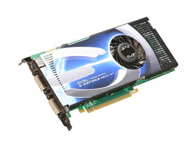 EVGA GeForce 8800 GT DirectX 10 512P3N802DX Video Card