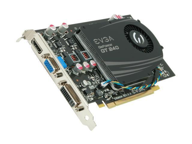 EVGA GeForce GT 200 SuperClocked GeForce GT 240 DirectX 10.1 512-P3-1242-LR Video Card
