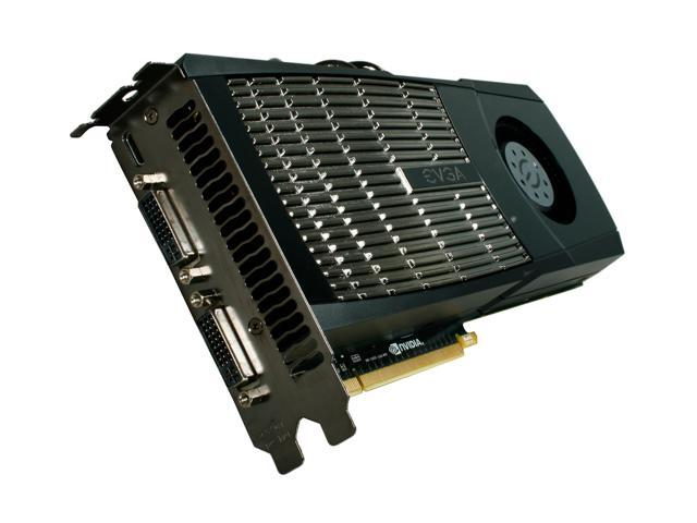 EVGA GeForce GTX 400 SuperClocked GeForce GTX 480 (Fermi) DirectX 11 015-P3-1482-AR Video Card