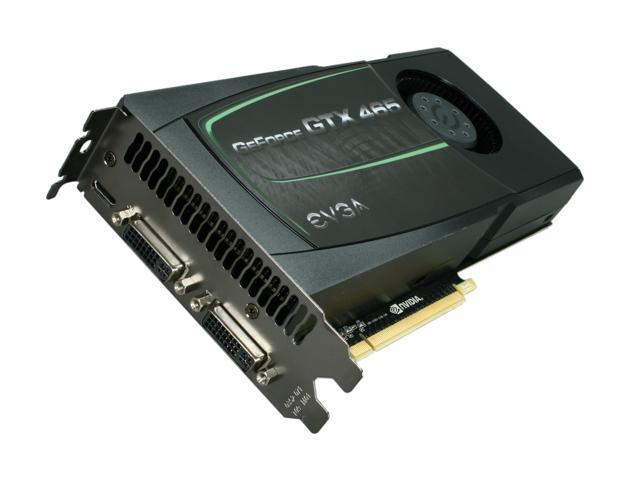 EVGA GeForce GTX 400 SuperClocked GeForce GTX 465 (Fermi) DirectX 11 01G-P3-1467-AR Video Card