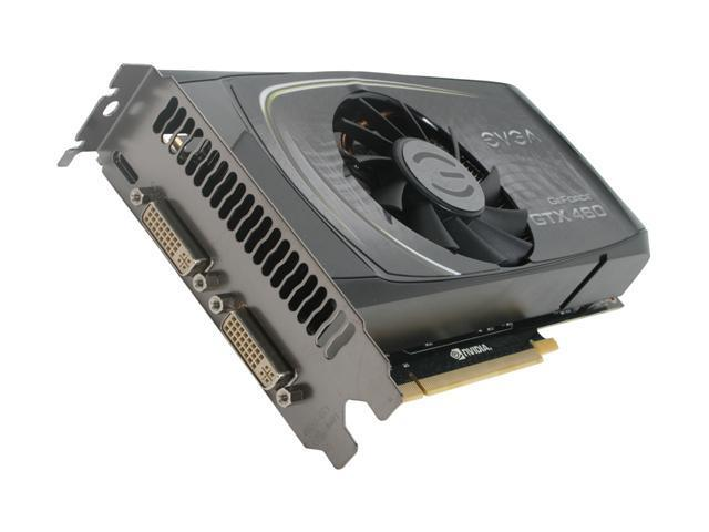 EVGA GeForce GTX 460 (Fermi) DirectX 11 01G-P3-1370-TR Video Card