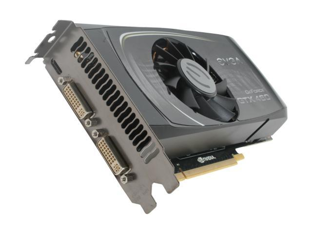 EVGA GeForce GTX 400 SuperClocked GeForce GTX 460 (Fermi) DirectX 11 01G-P3-1372-TR Video Card