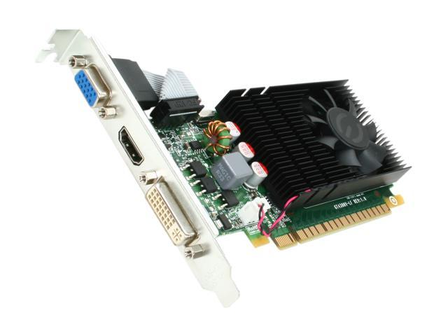 EVGA GeForce GT 430 (Fermi) DirectX 11 01G-P3-1430-LR 1GB 128-Bit DDR3 PCI Express 2.0 x16 HDCP Ready Video Card