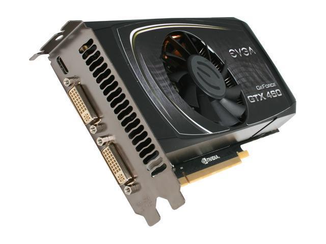 EVGA SuperClocked 01G-P3-1367-TR GeForce GTX 460 SE (Fermi) 1GB 256-bit GDDR5 PCI Express 2.0 x16 HDCP Ready SLI Support Video Card