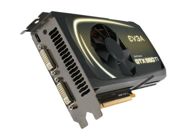 EVGA GeForce GTX 500 SuperClocked GeForce GTX 560 Ti (Fermi) DirectX 11 01G-P3-1563-AR Video Card