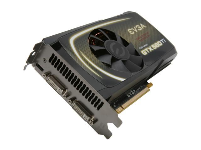 EVGA 01G-P3-1561-KR GeForce GTX 560 Ti FPB (Fermi) 1GB 256-bit GDDR5 PCI Express 2.0 x16 HDCP Ready  SLI Support Video Card