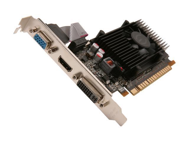 EVGA GeForce GT 520 (Fermi) DirectX 11 01G-P3-1523-KR Video Card