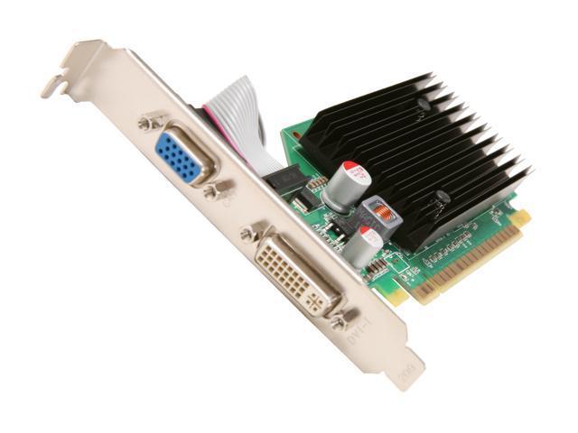 EVGA GeForce 8400 GS DirectX 10 512-P3-N725-RX Video Card