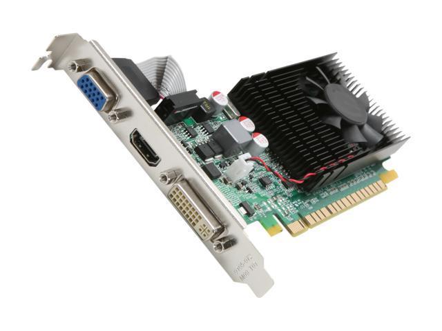 EVGA GeForce GT 430 (Fermi) DirectX 11 01G-P3-1335-KR 1GB 64-Bit DDR3 PCI Express 2.0 x16 HDCP Ready Video Card