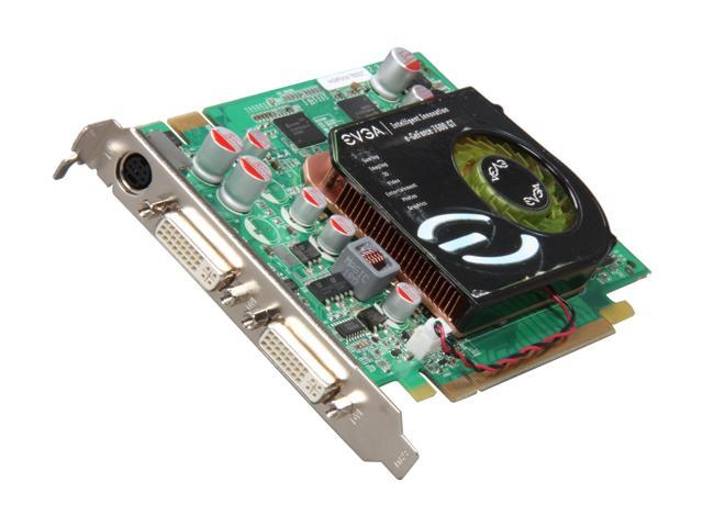 EVGA GeForce 7600GT DirectX 9 256-P2-N550-RX Video Card
