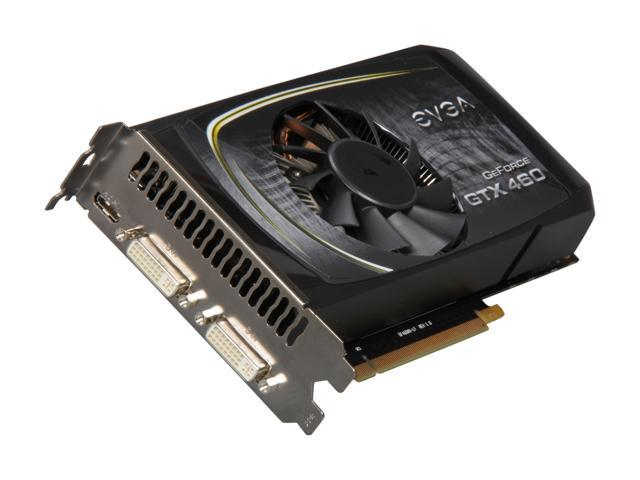 EVGA GeForce GTX 460 SE (Fermi) DirectX 11 01G-P3-1366-RX Video Card