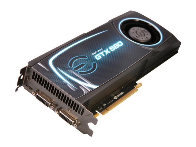 EVGA GeForce GTX 580 (Fermi) DirectX 11 015-P3-1580-RX 1536MB 384-Bit GDDR5 PCI Express 2.0 x16 HDCP Ready SLI Support Video Card