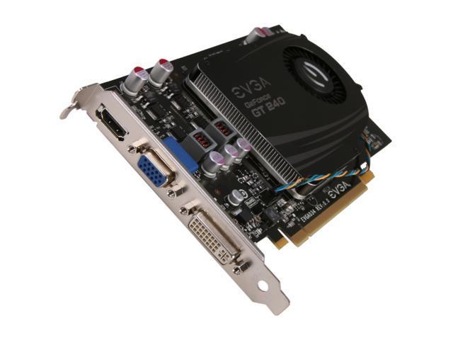 EVGA GeForce GT 240 DirectX 10.1 512-P3-1241-RX Video Card