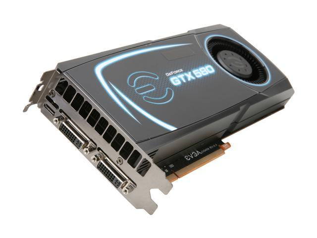 EVGA GeForce GTX 580 (Fermi) DirectX 11 015-P3-1580-TR Video Card
