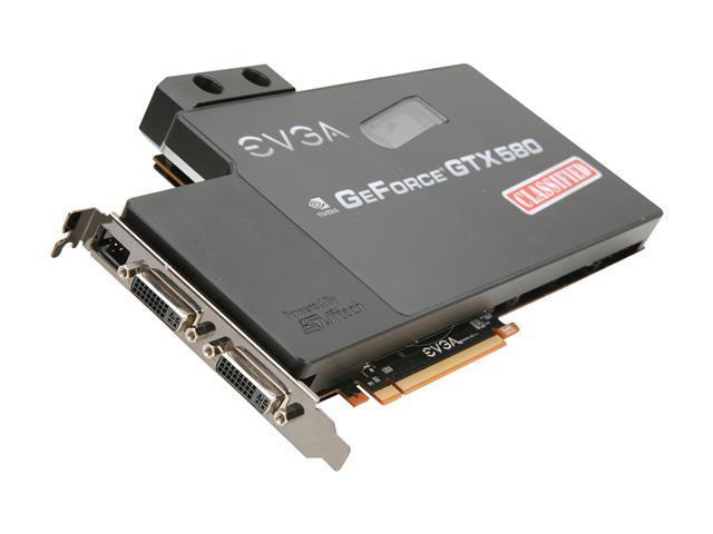 EVGA GeForce GTX 580 (Fermi) DirectX 11 03G-P3-1593-AR Video Card