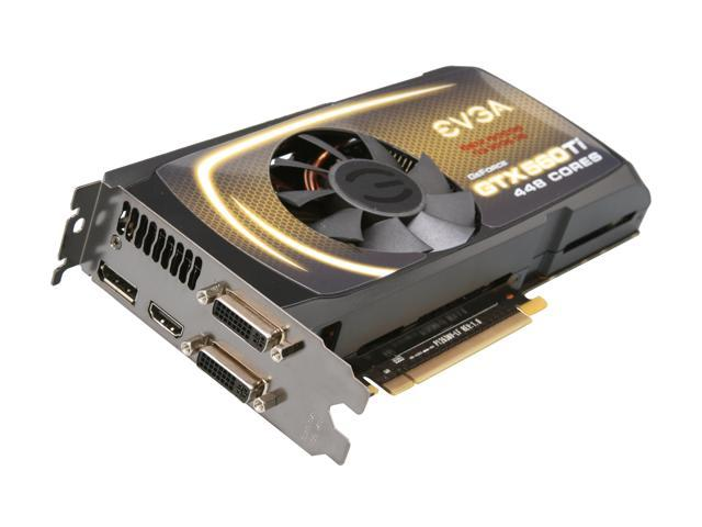 EVGA GeForce GTX 560 Ti - 448 Cores (Fermi) DirectX 11 012-P3-2066-KR Video Card
