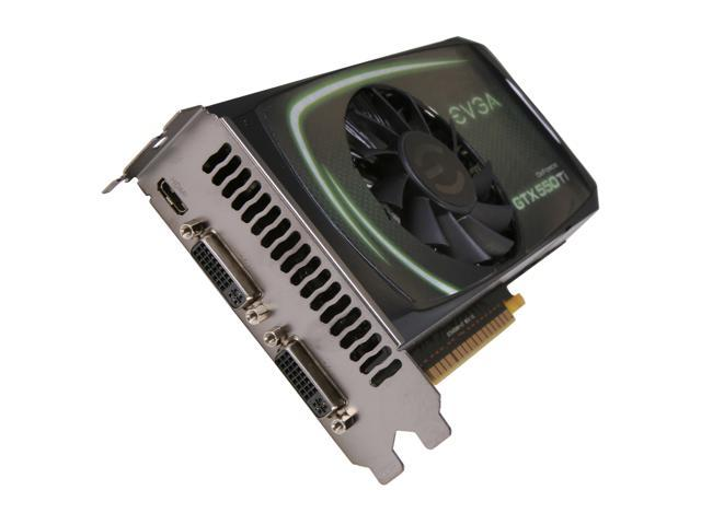 EVGA GeForce GTX 550 Ti (Fermi) DirectX 11 02G-P3-1559-RX 2GB 192-Bit GDDR5 PCI Express 2.0 x16 HDCP Ready SLI Support Video Card