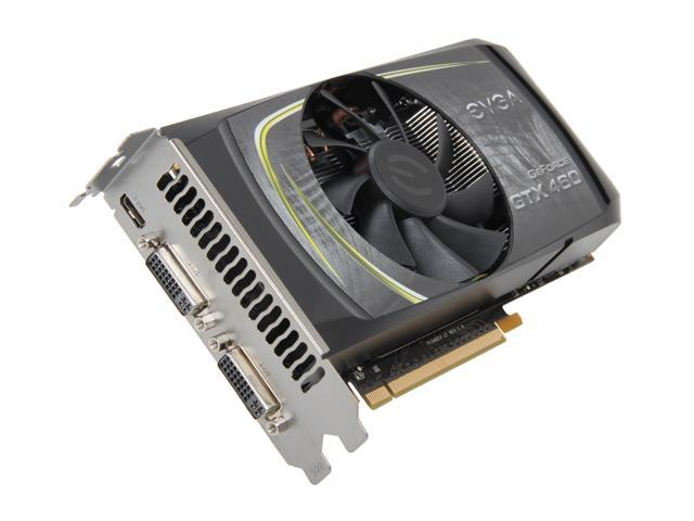EVGA SuperClocked 01G-P3-1363-KR GeForce GTX 460 (Fermi) 1GB 192-bit GDDR5 PCI Express 2.0 x16 HDCP Ready SLI Support Video Card