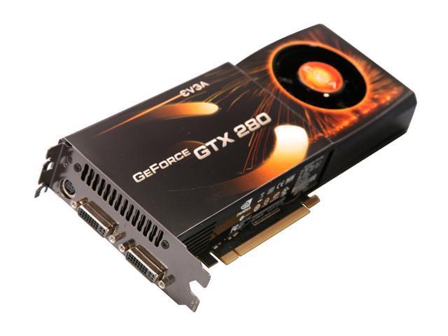 EVGA GeForce GTX 280 DirectX 10 01G-P3-1282-RX Video Card