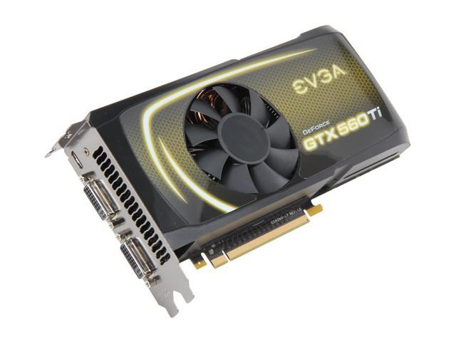 EVGA GeForce GTX 500 SuperClocked GeForce GTX 560 Ti (Fermi) DirectX 11 01G-P3-1563-RX Video Card