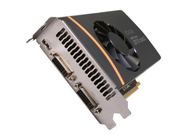 EVGA SuperClocked 02G-P3-1469-RX GeForce GTX 560 (Fermi) 2GB 256-bit GDDR5 PCI Express 2.0 x16 HDCP Ready SLI Support Video Card
