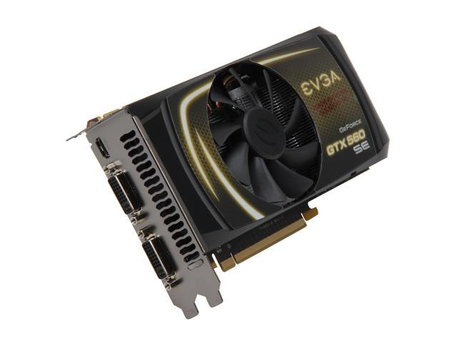 EVGA GeForce GTX 560 SE (Fermi) DirectX 11 01G-P3-1464-KR Video Card