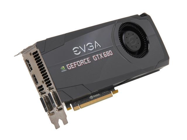 EVGA SuperClocked+ 02G-P4-2684-KR GeForce GTX 680 2GB 256-bit GDDR5 PCI Express 3.0 x16 HDCP Ready SLI Support Video Card