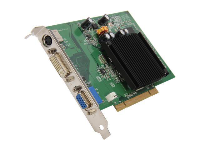 EVGA 512-P1-N402-RX GeForce 6200 512MB 64-Bit DDR2 PCI 2.1 Video Card Manufactured Recertified
