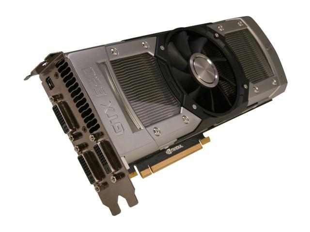 EVGA GeForce GTX 690 DirectX 12 (feature level 11_0) 04G-P4-2690-KR 4GB 512-Bit GDDR5 PCI Express 3.0 x16 HDCP Ready SLI Support Video Card