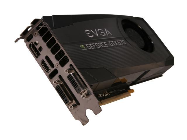 EVGA GeForce GTX 670 DirectX 11 02G-P4-2678-KR Video Card