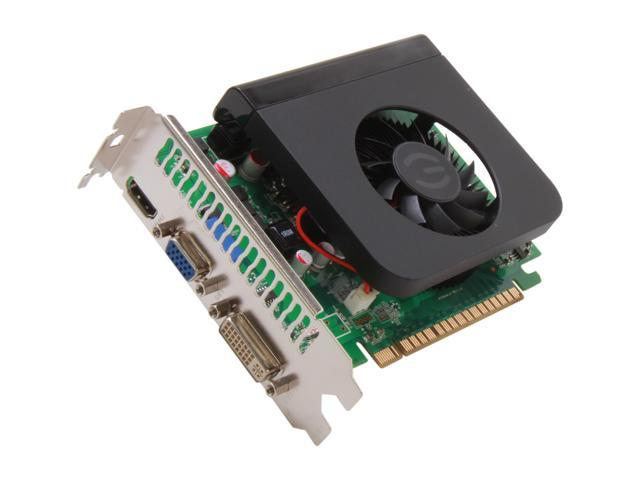 EVGA GeForce GT 630 DirectX 12 (feature level 11_0) 01G-P3-2632-KR 1GB 128-Bit GDDR5 PCI Express 2.0 x16 HDCP Ready Video Card