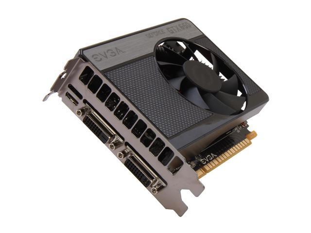 EVGA GeForce GTX 650 DirectX 12 (feature level 11_0) 01G-P4-2650-KR Video Card