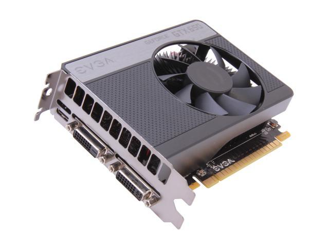 EVGA 01G-P4-2650-RX GeForce GTX 650 1GB 128-Bit GDDR5 PCI Express 3.0 x16 HDCP Ready Video Card Certified Refurbished