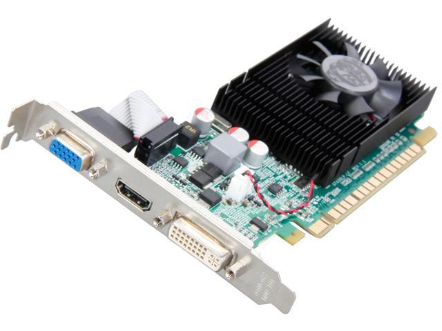 EVGA GeForce GT 620 DirectX 11 02G-P3-2627-RX 2GB 64-Bit DDR3 PCI Express 2.0 x16 Video Card