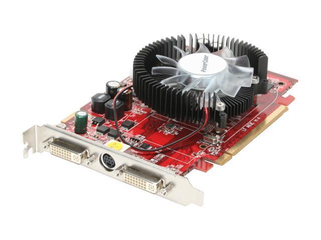 PowerColor Radeon HD 2600XT DirectX 10 HD2600XT 512MB DDR3 512MB 128-Bit GDDR3 PCI Express x16 HDCP Ready CrossFireX Support Video Card