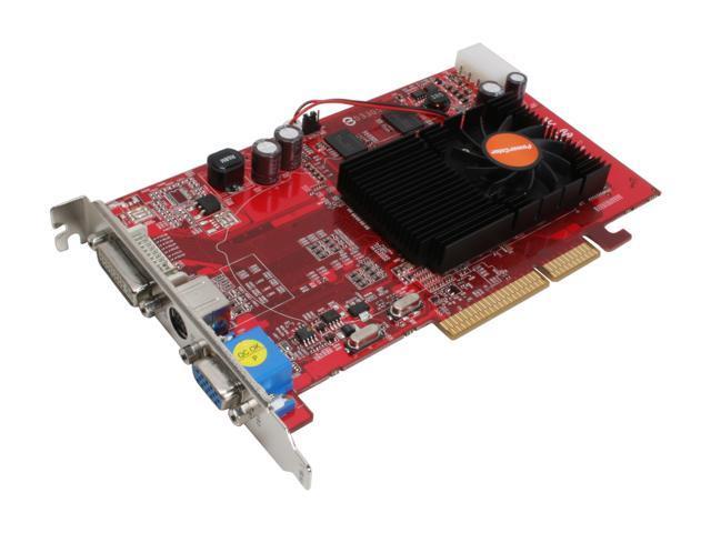 PowerColor Radeon X1650PRO DirectX 9 X1650PRO 512M AGP 512MB 128-Bit GDDR2 AGP 8X Video Card