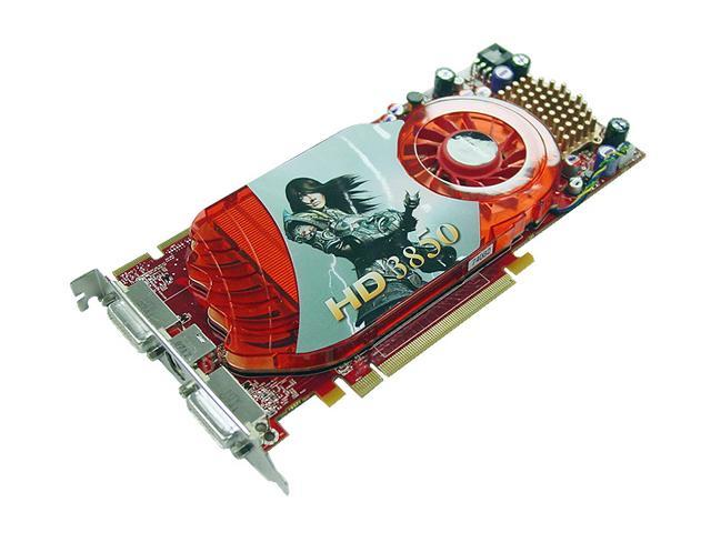 PowerColor Radeon HD 3850 DirectX 10.1 AX3850 256MD3-H 256MB 256-Bit GDDR3 PCI Express 2.0 x16 HDCP Ready CrossFireX Support Video Card