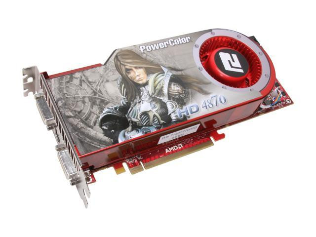 PowerColor Radeon HD 4870 DirectX 10.1 AX4870 512MD5-H Video Card